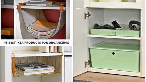 15 Best IKEA Products for Organizing   YouTube