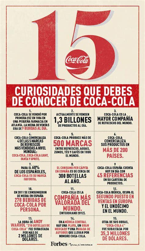 15 curiosidades sobre Coca Cola que debes conocer # ...