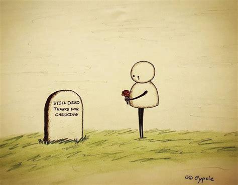 15 Dibujos tristes que nos harán reflexionar, por Gypsie ...