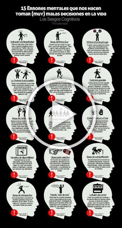 15 Errores mentales que nos hacen tomar  muy  malas ...