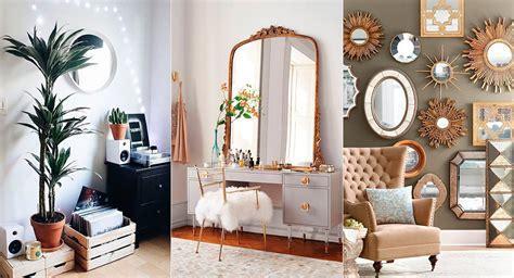 15 espejos decorativos para transformar tu habitación ...