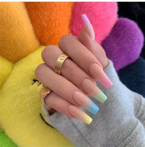 15 Estilos de uñas con efecto degradado que deberás ...