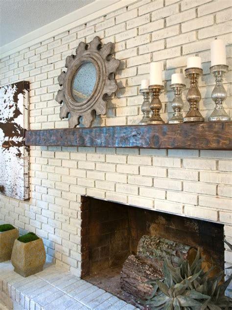 15 Gorgeous Painted Brick Fireplaces | HGTV s Decorating ...