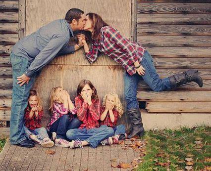 15 ideas para tomar las fotos familiares más originales ...