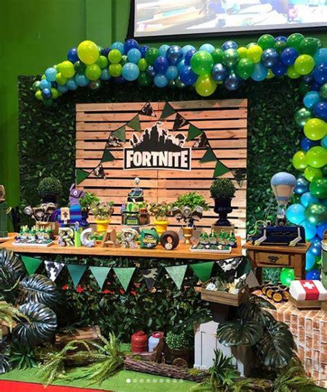 15 ideas para una fiesta Fortnite