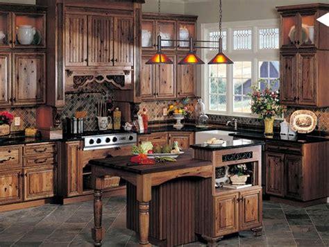 15 Interesting Rustic Kitchen Designs | Home Design Lover