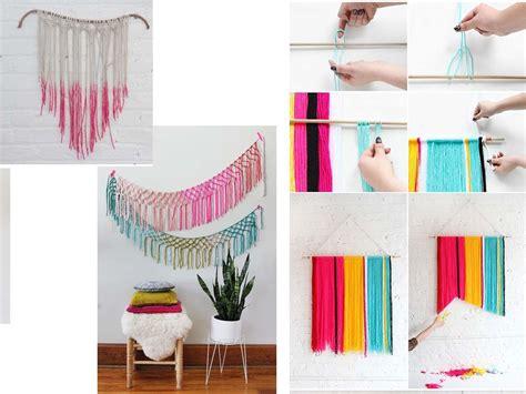 15 Manualidades para decorar paredes