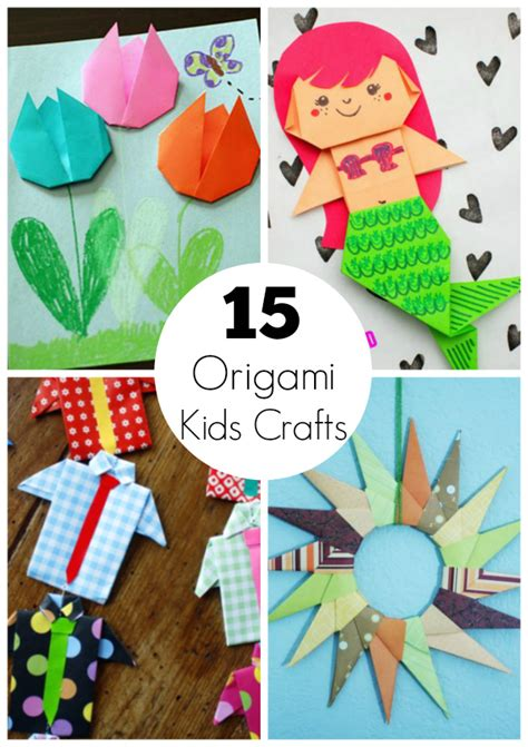 15 Origami Paper Crafts for Kids to Create | Make and Takes