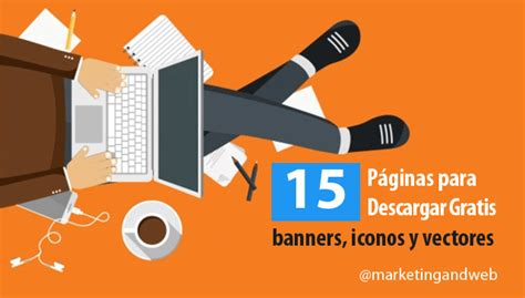 15 Páginas para descargar banners, iconos y vectores ...