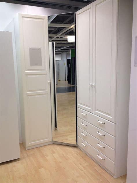 15 Photo of Corner Wardrobe Closet IKEA