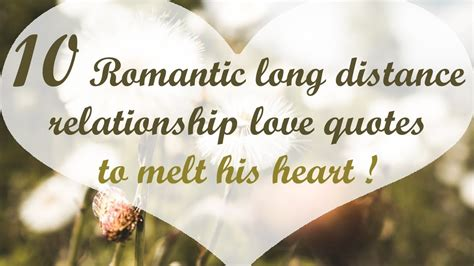 15 Romantic long distance relationship love quotes to melt ...