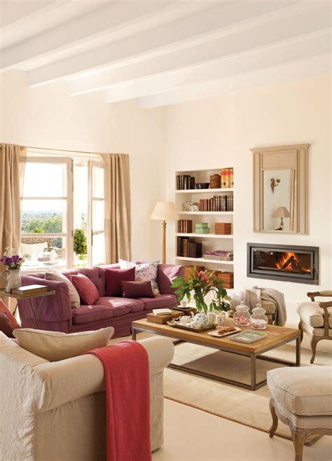 15 salones con chimenea | Homes | Salon con chimenea ...