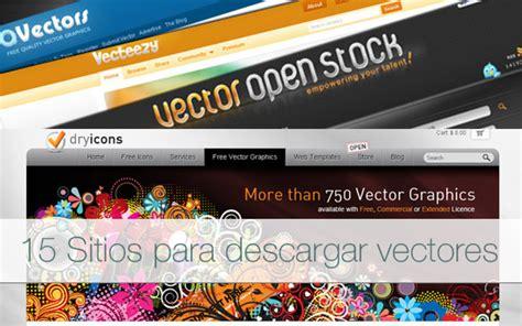 15 sitios para descargar vectores gratuitos
