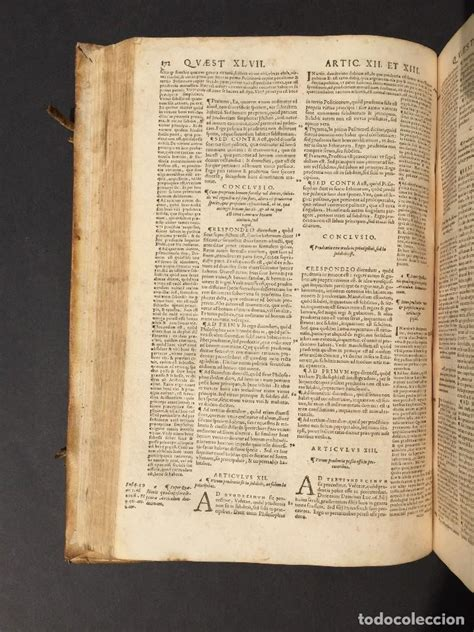 1567   santo tomas de aquino   libro del siglo   Vendido ...