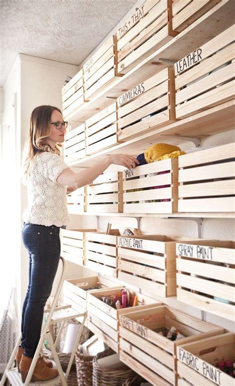 16 ideas para decorar tu casa con cajas de madera   Mi ...