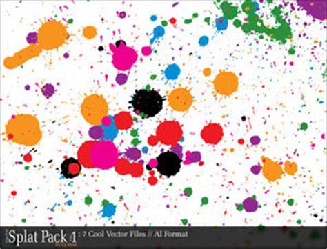 16 vectores abstractos de manchas