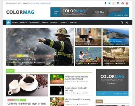 17+ Best Free Responsive WordPress Themes and Templates 2016