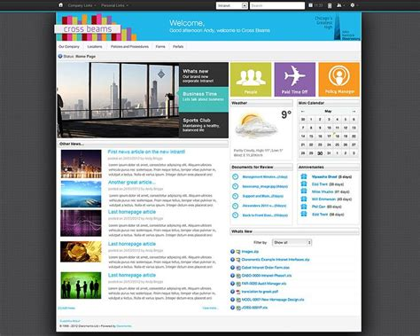 17 Best images about Intranet Design on Pinterest ...