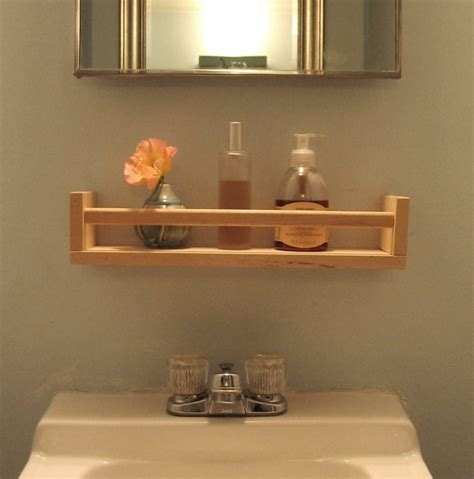 17 DIY Wooden Bathroom Shelves That You Can Make Just In ...