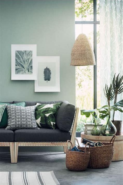 17 ideas para una decoración en verde. Diferentes tipos de ...