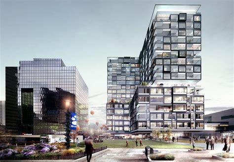17 Story Mixed Use Building Announced at Columbus Commons ...