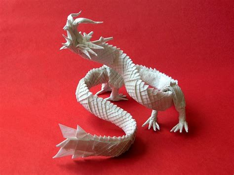 18 Incredible Eastern Style Origami Dragons | Origami.me