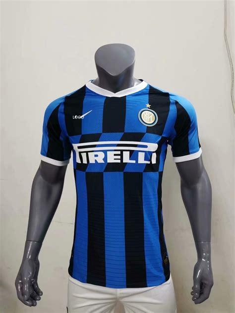 19 20 men player version Inter Milan soccer jersey ...