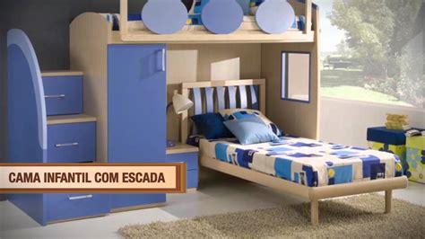 19 CDD cama infantil com escada   YouTube