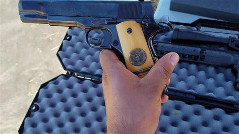 1911 Colt copa de oro y una gran coleccion de armas   YouTube