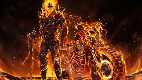 1920x1080 Ghost Rider 2020 Art Laptop Full HD 1080P HD 4k ...