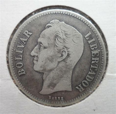 1935 Venezuela 2 Bolivares Silver Coin | eBay