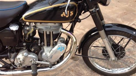 1951 AJS Model 18 Motorcycle For Sale   YouTube