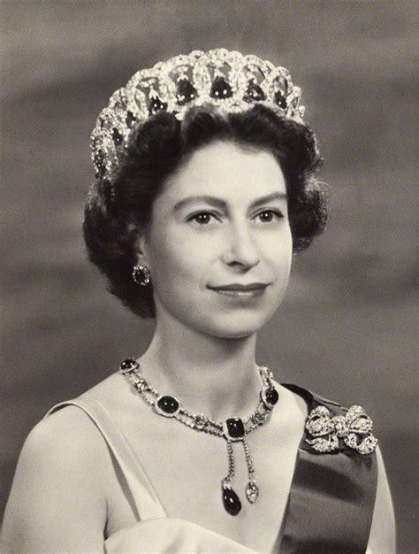 1957 photograph of Queen Elizabeth who still has the same ...