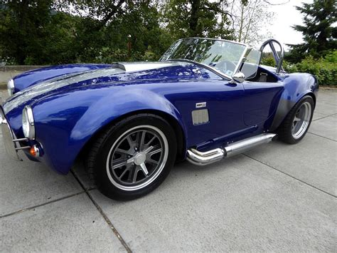 1965 Ford Shelby Cobra Replica Roadster For Sale : The ...