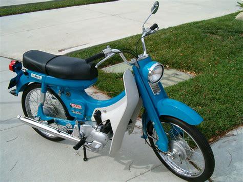 1966 Yamaha U5 scooter | 1966 50cc motorcycle from Yamaha ...