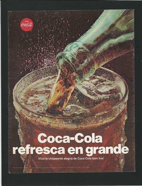 1967 COCA COLA REFRESCO – PUBLICIDAD | Museo de la Marca
