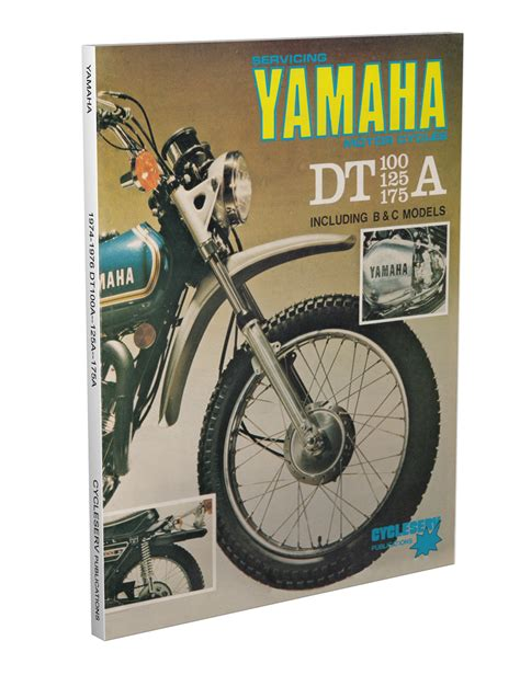 1971 1973 Yamaha 100/175 Cycleserv Repair Shop Manual ...