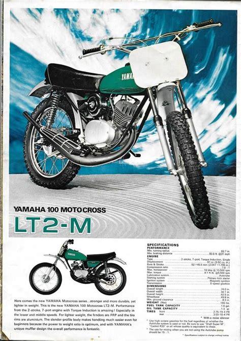 1972  Yamaha LT2 M 100cc motocrosser | VINTAGE DIRT ...