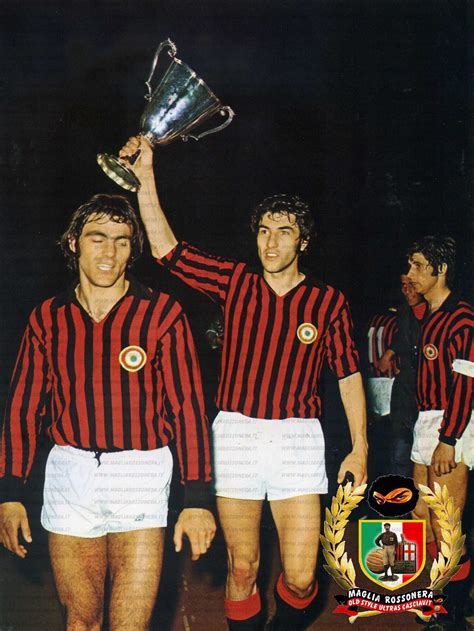 1973 European Cup Winners Cup Champions   AC Milan ...
