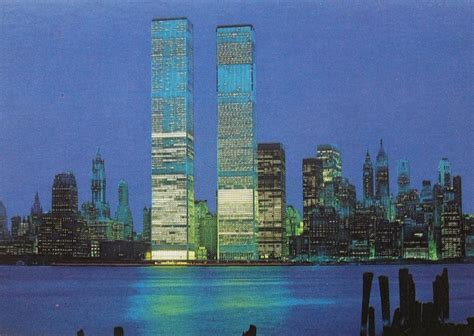 1973 WORLD TRADE CENTER Twin Towers New York City Vintage ...