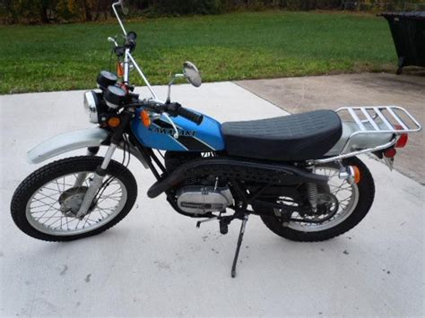 1975 Kawasaki F11 250 cc Enduro 2 stroke for sale on 2040 ...