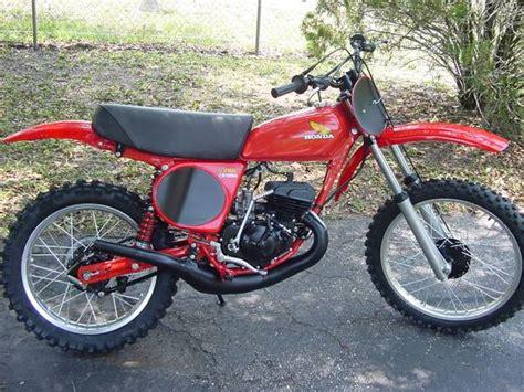 1976 Honda CR125 Elsinore Motocross Motorcycle For Sale
