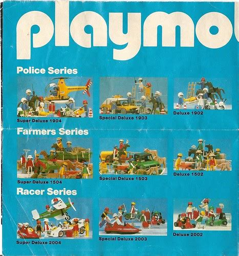 1982 playmobil catalog   a photo on Flickriver