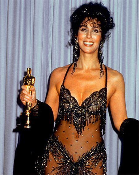 1988: Cher wins the Academy Award for Best Actress for her ...