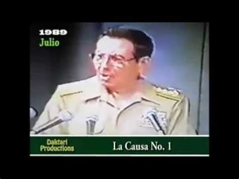 1989 JUICIO AL GENERAL ARNALDO OCHOA  video completo 1,5 ...