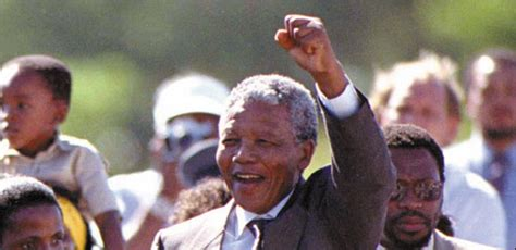 1990: Nelson Mandela Released from Prison after 27 Years ...