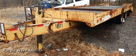 1999 Contrail C20 equipment trailer in Kansas City, KS ...