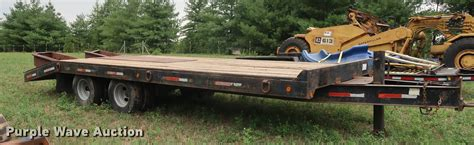 1999 Towmaster Contrail equipment trailer in Smithville ...