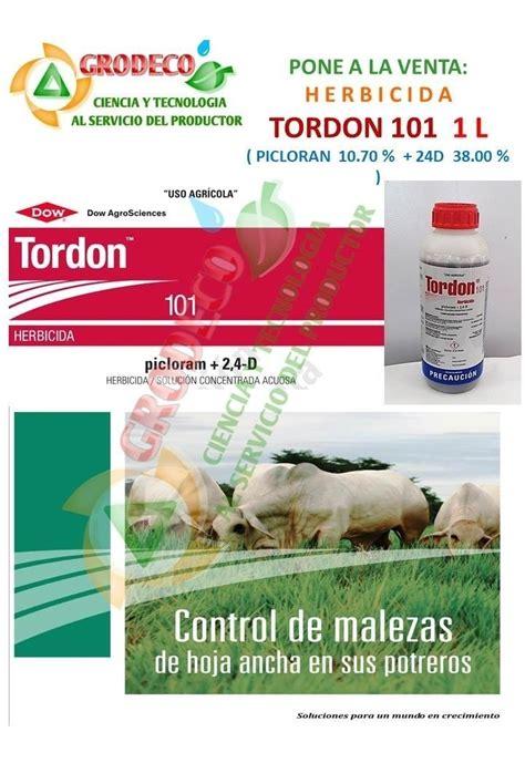 1l Herbicida Tordon 101 Selectivo A Pasto Para Potreros ...