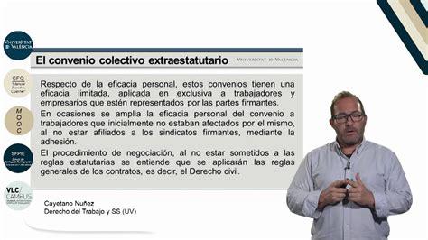 2.7 El convenio colectivo extraestatutario II   YouTube